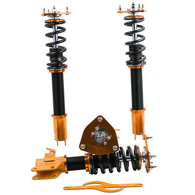 24 Ways Damper Coilovers for SUBARU WRX GDB GDA 2002-2007 Shock Absorbers CAC