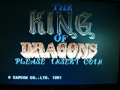 The King Of Dragons Jamma Pcb Arcade No MVS Atomiswave Capcom CPS