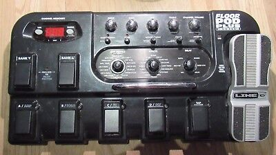 Line 6 Floor Pod Plus Multi Effects Pedal