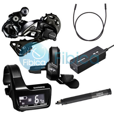 New 2017 Shimano Deore XT Di2 M8050 M8000 11s Electronic Upgrade Group Groupset