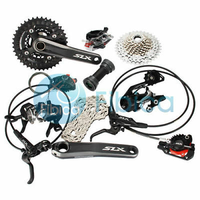 New 2017 Shimano SLX M7000 3x10 30-speed MTB Hydraulic Brake Groupset Group set
