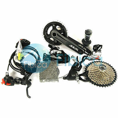 New 2017 Shimano SLX M7000 Double 2x11 22-speed Hydraulic Brake Groupset set
