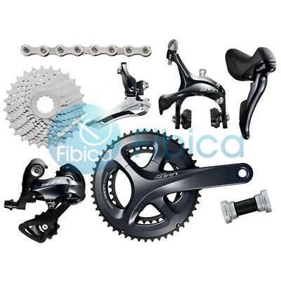 New 2017 Shimano SORA R3000 STI Road 2x9-speed 50/34T 28T Groupset Group