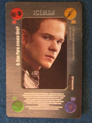 Battle Card - X-Men - The Last Stand - 2006 - Iceman