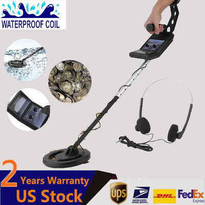 MD-4020 Metal Detector Gold Digger Light Hunter Deep Sensitive Search LCD EO