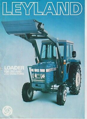 Leyland Loader for 262 and 272 Tractors Brochure