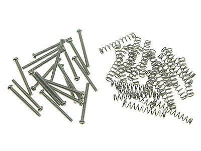 20x USA Size Humbucker Pickup Height Screws Springs for Gibson/Seymour Duncan