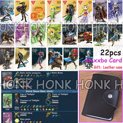 11/18/20/22Full Set NFC Tag card ZELDA BREATH OF THE WILD WOLF LINK For Switch