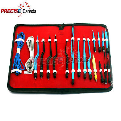 High Class Bipolar Forceps Electrosurgical Instruments Set