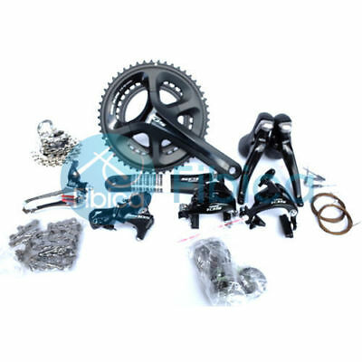New Shimano 105 5800 Road 2x11-speed 50/34T Compact Groupset Group 170mm