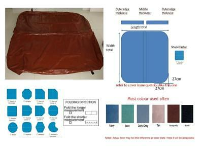 Customized spa cover skin at any size and shape, swim spa cover leather viynl