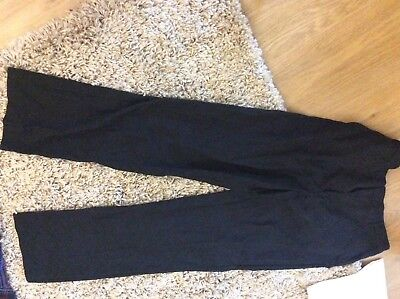 Eorn twice marks and spencer boys black age 14 - 15 yrs formal / school trousers