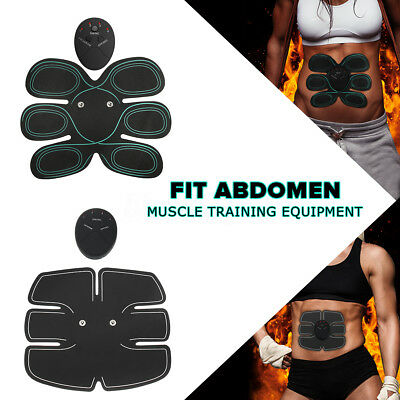 Abdomen Muscle EMS Abs Training Electrical Fit Body Shape Home Slimming Trainer