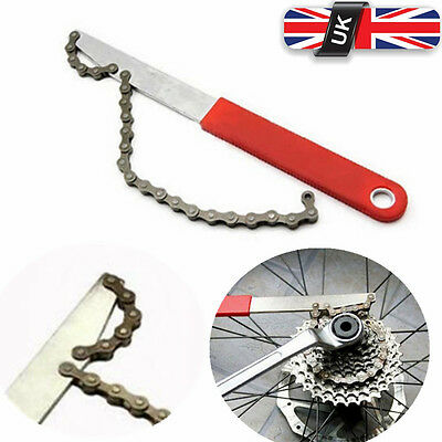 Freewheel Bike Chain Whip Cycle Bicycle Cassette Cog Remover Repair Tool