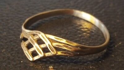 viking solid gold small ring  8TH-9TH CENTURY