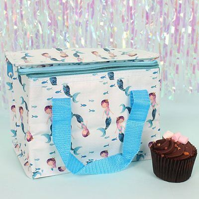 Mermaid Lunch Bag Insulated Cool Bag Picnic Bags School Lunchbox Bags