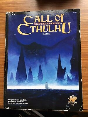 Call of Cthulhu Horror RolePlaying sixth edition