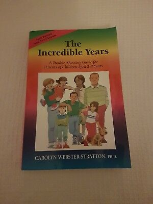 The Incredible Years by Carolyn Webster-Stratton (Paperback, 2006)