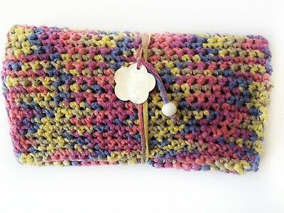 Handcrafted Rolling Tobacco Case Cigar Pouch Smoke Handmade Fildisi Flower Gift