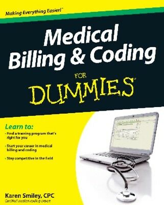 Medical Billing and Coding For Dummies - Read Full Description