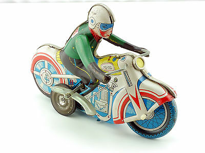MS 702 Motorcycle Blech-Motorrad Tin Toy Uhrwerk ohne Funktion 1412-26-67