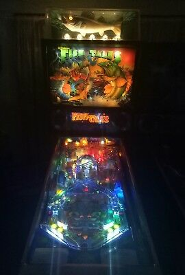 Williams fishtails pinball machine