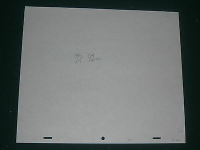 Scooby Doo Original Hand Drawn Production Art - Shaggy and Scooby Doo Driving