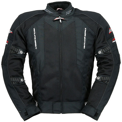 New Rst Pro Series Ventilator 4 Jacket Black Onroad Offroad Vented Jacket