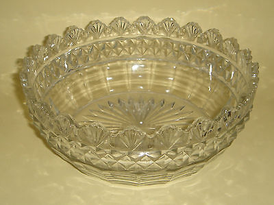 Depression Glass Master Bowl Shell Rim Rd. 578132 c.1911 Antique English