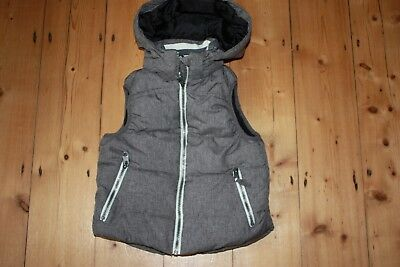 H and M boys body warmer gilet 5-6 age years