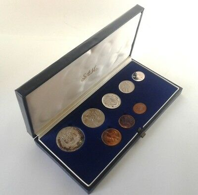 South Africa Proof Coin Set 1981 as Issued by the S A Mint in Original Box #CIM