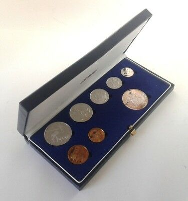 South Africa Proof Coin Set 1988 as Issued by the S A Mint in Original Box #CIM