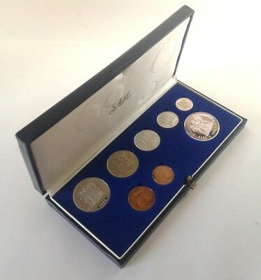 South Africa Proof Coin Set 1989 as Issued by the S A Mint in Original Box #CIM