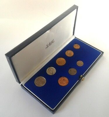 South Africa Proof Coin Set 1990 as Issued by the S A Mint in Original Box #CIM