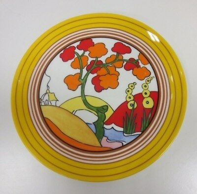 #9 Clarice Cliff Wedgwood Collectable Limited Bizarre Plate 'Bridgewater' *
