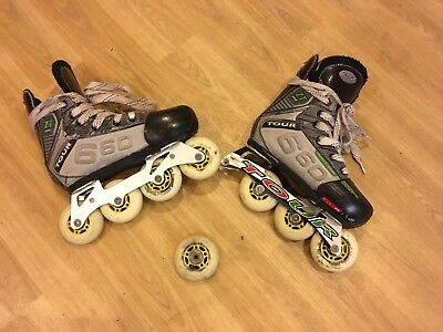 Inline Roller Skates Size 1-4 (easy repair see photos)
