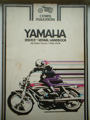 Yamaha 90-350cc TWINS CLYMER PUBLICATIONS