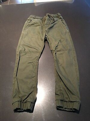 Boys Next Green Trousers Age 7. Never worn.