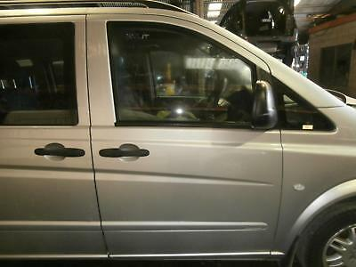 Mercedes Vito Right Front Door Window 639, 04/04- 04 05 06 07 08 09 10 11 12 13