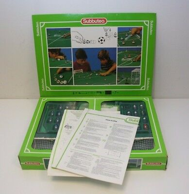 Subbuteo Football Set 60140 Table Football Game Boxed with Instructions *