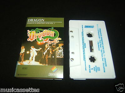 Dragon Dragon's Greatest Hits Vol. 1 2Nd Press Cassette Tape