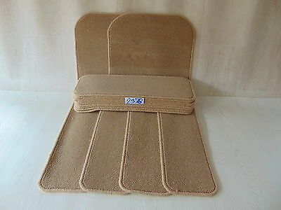 Stair Carpet Pads treads 60 cm x 20 cm  14 off  and 76 cm x 46 cm 2 off 2378-3