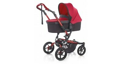 Jane Nano Carrycot In Scarlet (Chasis Not Included)