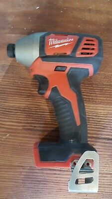 Milwaukee M18 18-Volt 1/4 in. Cordless Hex Impact Driver Tool-Only 2656-20