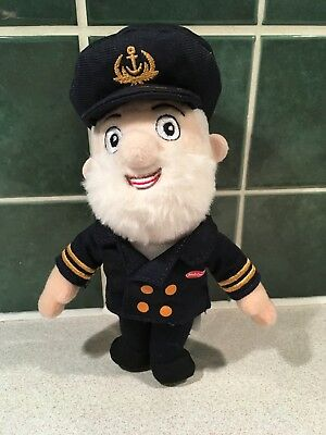 Golden Jubilee Captain Birds Eye Soft Toy collectible