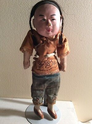 Vintage Antique Chinese opera? male  doll