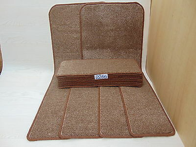Stair Pads treads 60cm x 23cm 15 off and 2 Mats at 1m x 50cm  2252-4