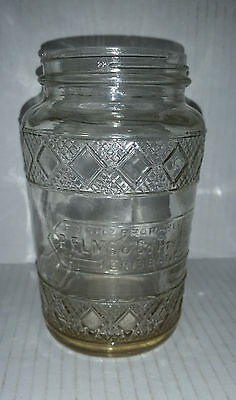 P. ELMS Brisbane vintage empty pickle jar