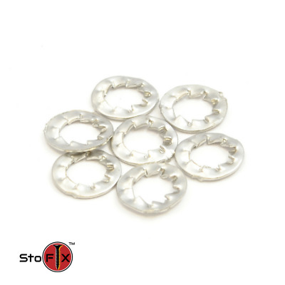 M4 Shakeproof Washers Internal Serrated Lock Washer Stainless Steel A2