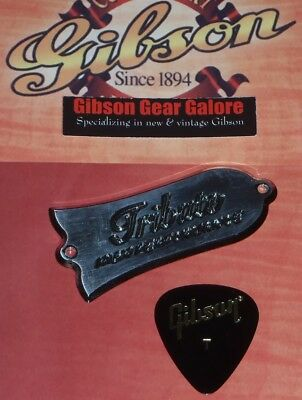 Gibson Les Paul Truss Rod Cover Tribute 2017 HP Metal Guitar Parts Custom Deluxe